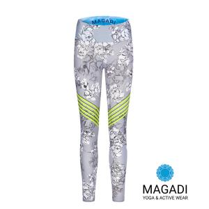 Leggings - Magadi-Designprint Athletic , enges Bein