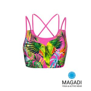 Sport Bra - Magadi-Designprint Tropical