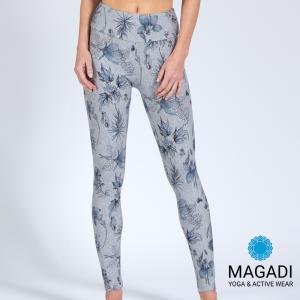 Leggings - Magadi-Designprint Marie , enges Bein