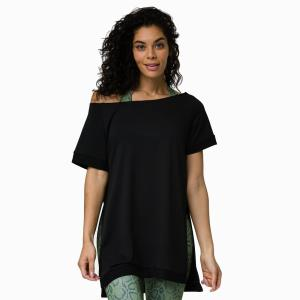 Top - Split Sweatshirt - kurzer Arm