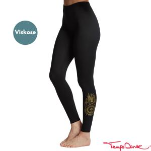 Leggings - Print gold AHIMSA